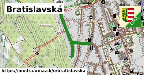 ilustrácia k Bratislavská, Modra - 0,76km
