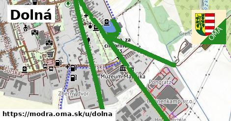 ilustrácia k Dolná, Modra - 3,4km