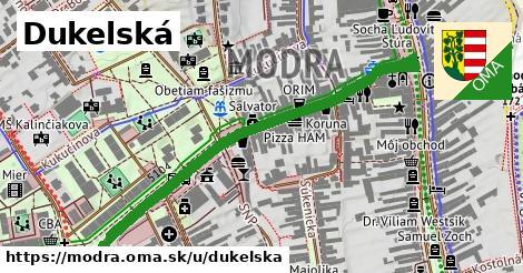 ilustrácia k Dukelská, Modra - 558m