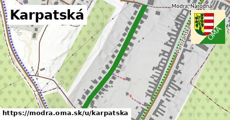 ilustrácia k Karpatská, Modra - 403m