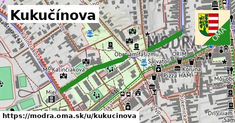 ilustrácia k Kukučínova, Modra - 415m
