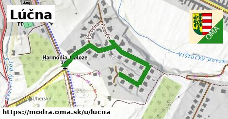 ilustrácia k Lúčna, Modra - 498m