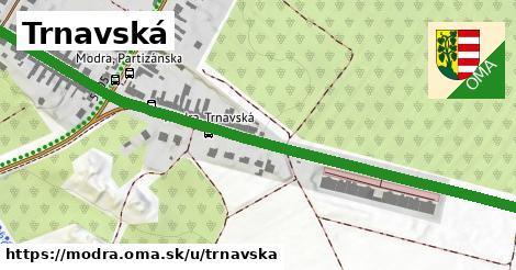 ilustračný obrázok k Trnavská, Modra