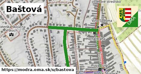 ilustrácia k Baštová, Modra - 265m