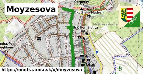 ilustrácia k Moyzesova, Modra - 0,88km
