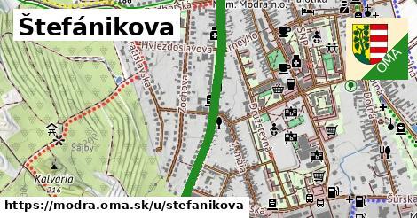 Štefánikova, Modra