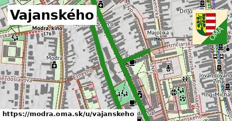 ilustrácia k Vajanského, Modra - 0,94km