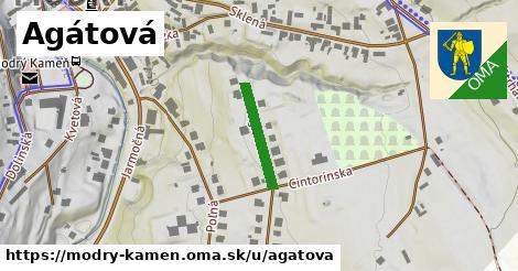 ilustrácia k Agátová, Modrý Kameň - 159m