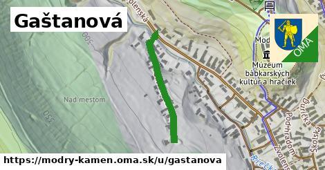 ilustrácia k Gaštanová, Modrý Kameň - 258m