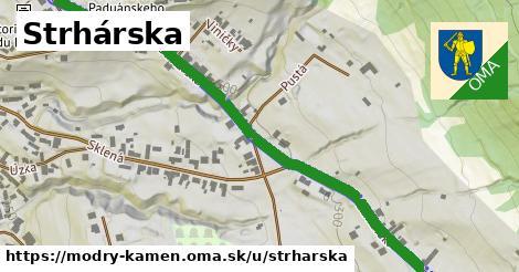ilustrácia k Strhárska, Modrý Kameň - 0,74km