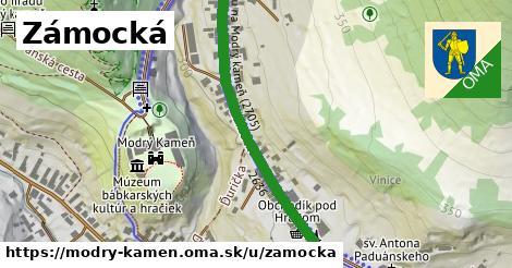 ilustrácia k Zámocká, Modrý Kameň - 402m