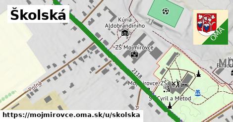 ilustrácia k Školská, Mojmírovce - 630m