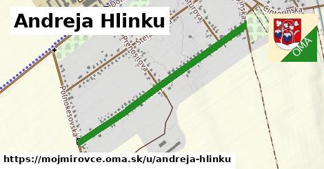 ilustrácia k Andreja Hlinku, Mojmírovce - 0,95km