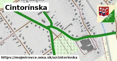 ilustrácia k Cintorínska, Mojmírovce - 1,14km