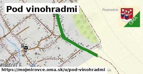ilustrácia k Pod vinohradmi, Mojmírovce - 0,80km