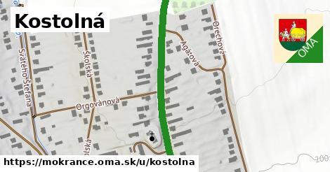 ilustrácia k Kostolná, Mokrance - 0,77km