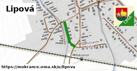 ilustrácia k Lipová, Mokrance - 154m