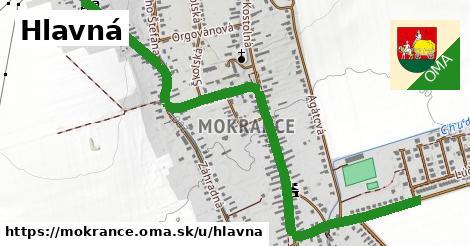ilustrácia k Hlavná, Mokrance - 1,79km
