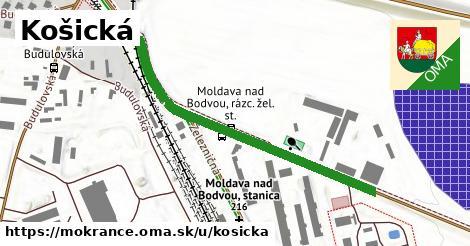 Košická, Mokrance