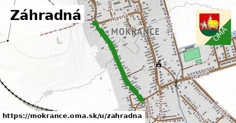 ilustrácia k Záhradná, Mokrance - 587m