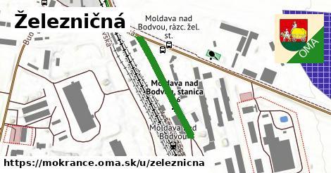 ilustrácia k Železničná, Mokrance - 195m
