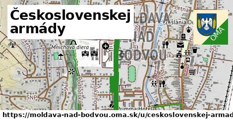 ilustrácia k Československej armády, Moldava nad Bodvou - 671m
