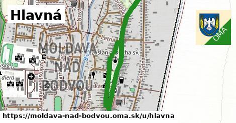 ilustrácia k Hlavná, Moldava nad Bodvou - 1,46km