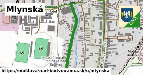 ilustrácia k Mlynská, Moldava nad Bodvou - 371m