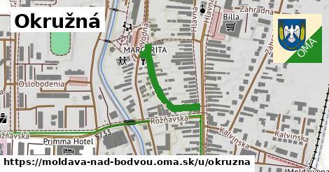 ilustrácia k Okružná, Moldava nad Bodvou - 239m