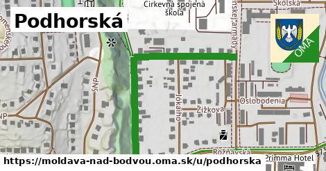 ilustrácia k Podhorská, Moldava nad Bodvou - 517m