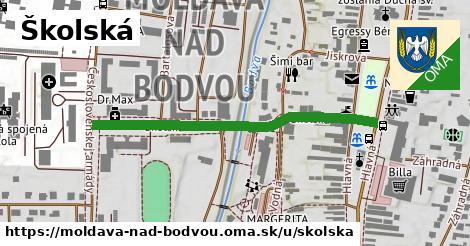 ilustrácia k Školská, Moldava nad Bodvou - 452m