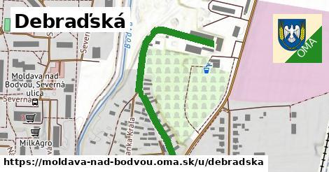Debraďská, Moldava nad Bodvou