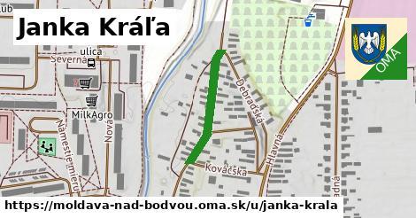 Janka Kráľa, Moldava nad Bodvou