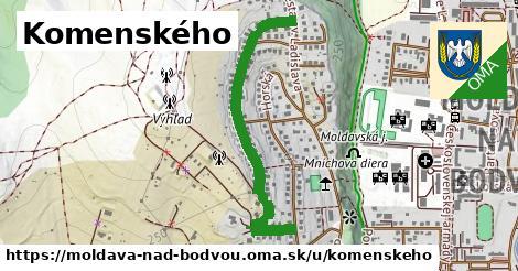 ilustrácia k Komenského, Moldava nad Bodvou - 0,88km