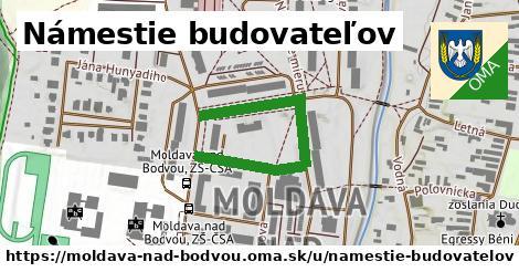 Námestie budovateľov, Moldava nad Bodvou