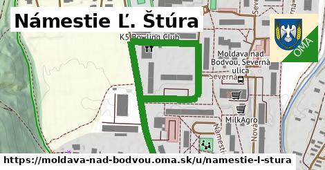 Námestie Ľ. Štúra, Moldava nad Bodvou