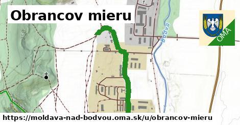 Obrancov mieru, Moldava nad Bodvou