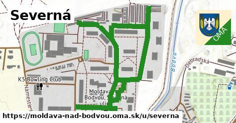 ilustrácia k Severná, Moldava nad Bodvou - 1,04km
