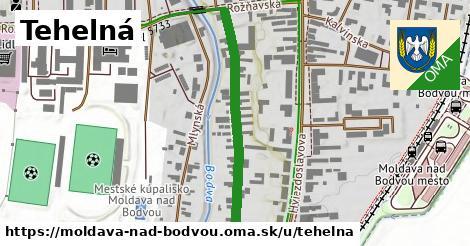 Tehelná, Moldava nad Bodvou