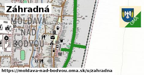 ilustračný obrázok k Záhradná, Moldava nad Bodvou