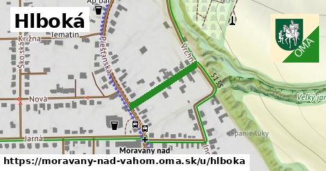 ilustračný obrázok k Hlboká, Moravany nad Váhom