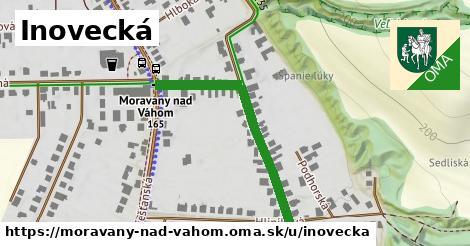 ilustrácia k Inovecká, Moravany nad Váhom - 360m