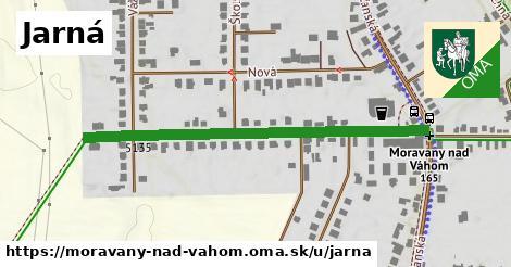 ilustrácia k Jarná, Moravany nad Váhom - 510m