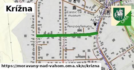 ilustrácia k Krížna, Moravany nad Váhom - 343m