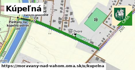 ilustrácia k Kúpeľná, Moravany nad Váhom - 385m