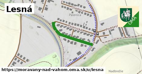 ilustrácia k Lesná, Moravany nad Váhom - 256m