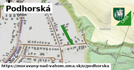 ilustrácia k Podhorská, Moravany nad Váhom - 120m