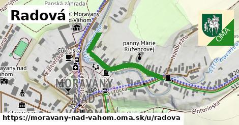 ilustrácia k Radová, Moravany nad Váhom - 257m