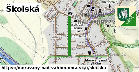 Školská, Moravany nad Váhom