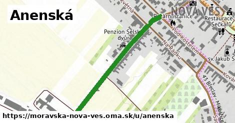ilustrácia k Anenská, Moravská Nová Ves - 406m